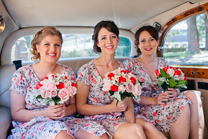 bridesmaids-in-vintage-car