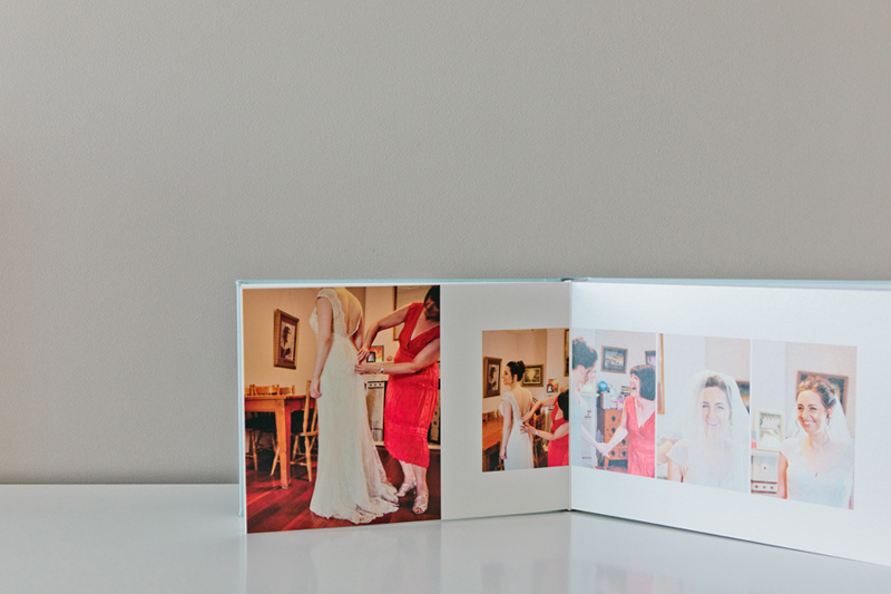Queensberry Wedding Album Layout