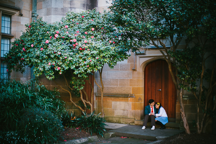 Kristina & Karl | The melancholy of Haruhi Suzumiya Sydney University Engagement