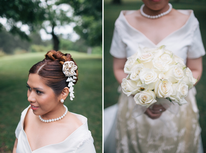 bouquet-and-hair-styling