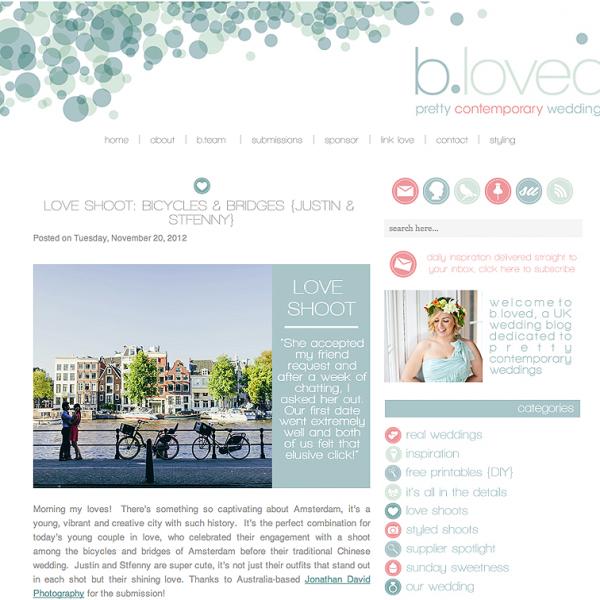 b.loved Weddings | Justin & Sfenny