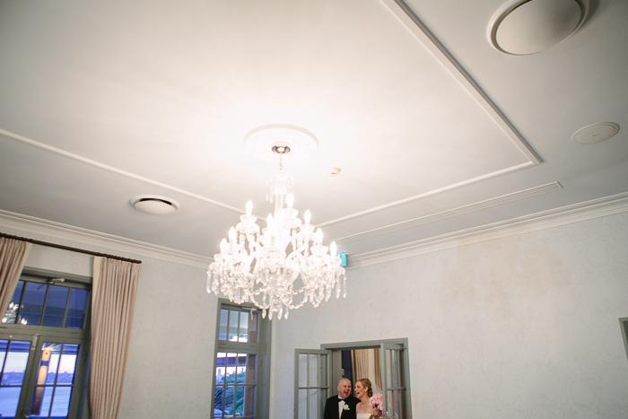 bride-and-groom-enter-wedding-reception