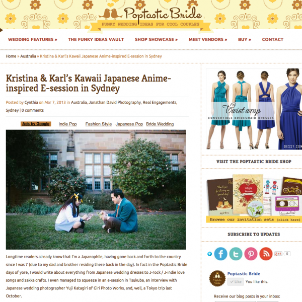 Poptastic Bride | Karl & Kristina