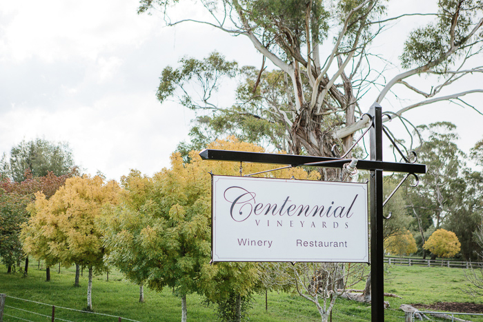 Centennial Vineyards Wedding Reception