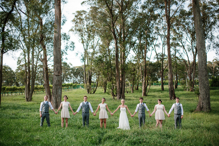 Bridal Party in the Southern Highlands