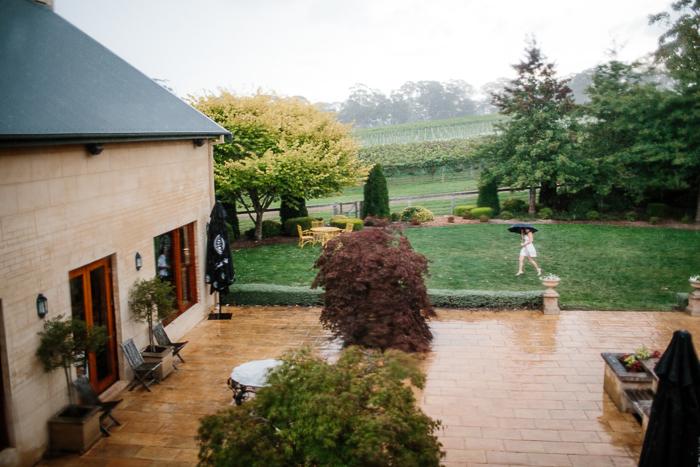 Wet Weather Wedding Photography