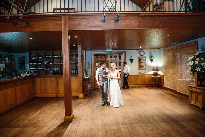 Wedding Reception Husband & Wife Entrance