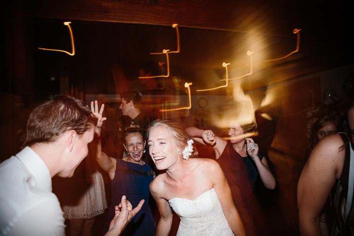 Bride Having Fun on the Dancefloor