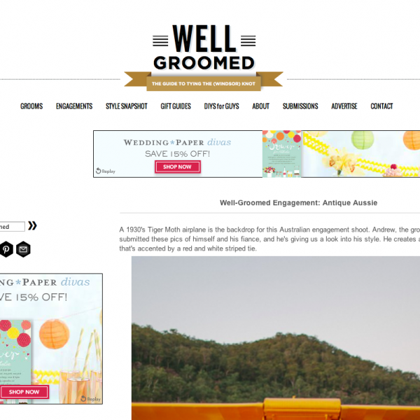 Well Groomed | The Wedding Style Blog for Grooms