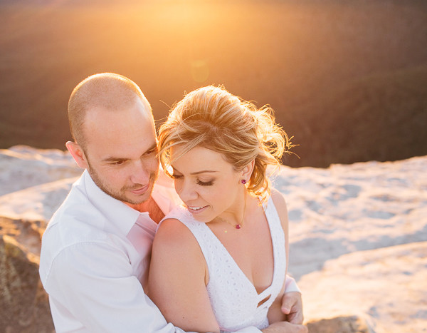Blue Mountains Engagement Photography   Clare & Rick