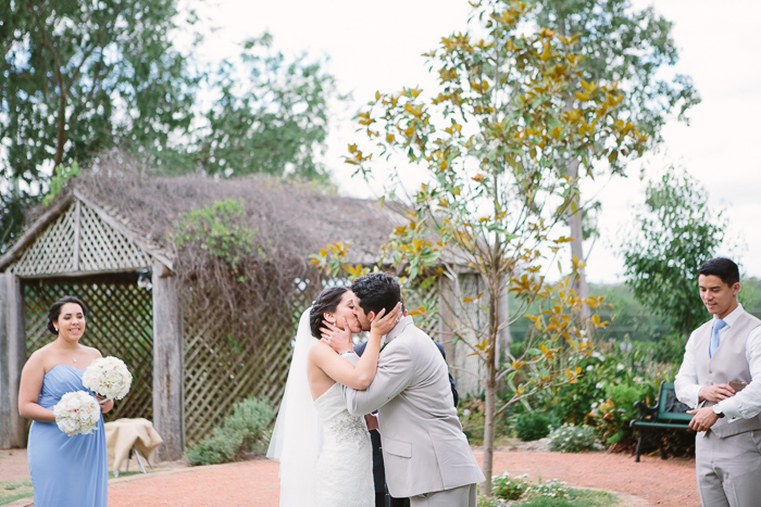 The Wedding Kiss at Belgenny Farm