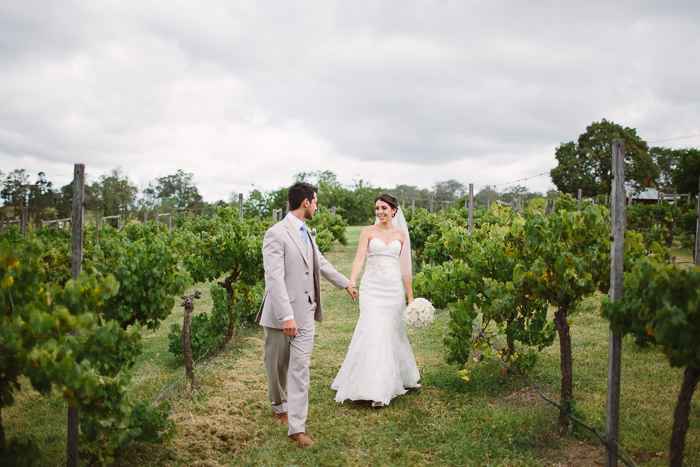 Vineyard Wedding Photos at Belgenny Farm
