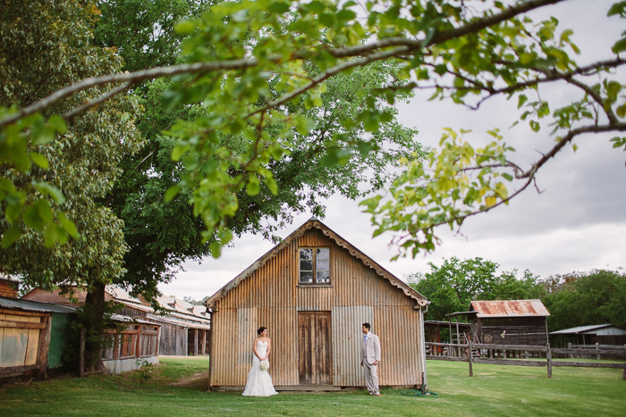 Barnyard Wedding Photography