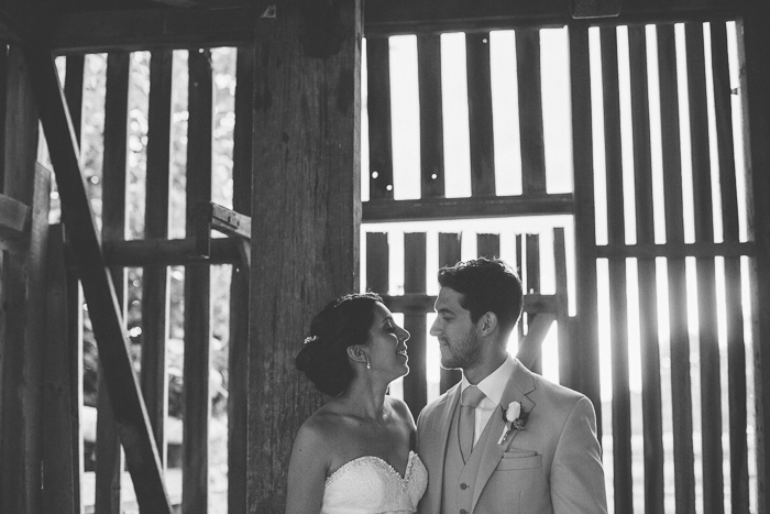 Creative Farm Wedding Portraits