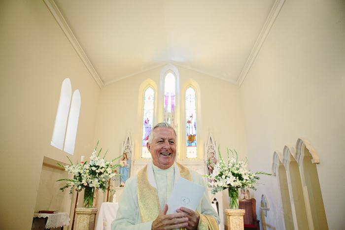 Catholic Priest at Bowral Wedding Ceremony