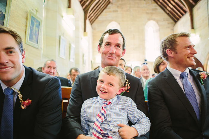 Cute children guests in Berrima weding