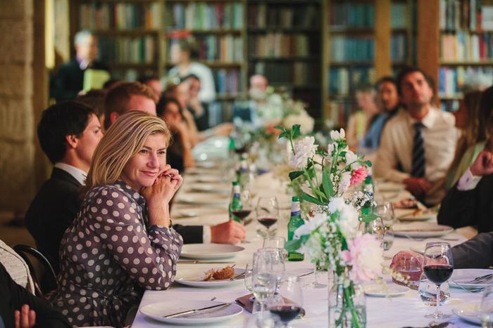 photojournalist wedding photos in berkelouw book barn