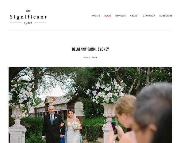 The Significant Space | Vintage Belgenny Farm Wedding