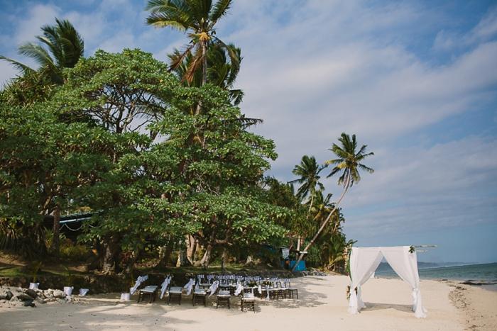 Wedding Ceremony at The Warwick Fiji Resort & Spa