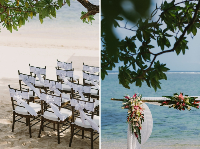 Beach Wedding at Fiji Warwick Resort & Spa