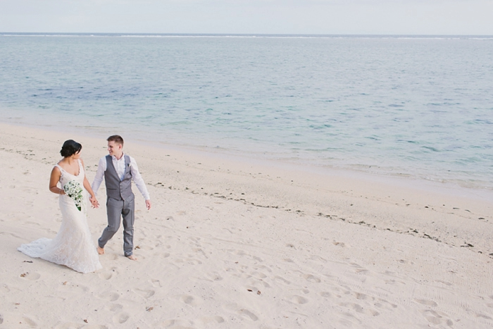 Walking along the Beach after your wedding