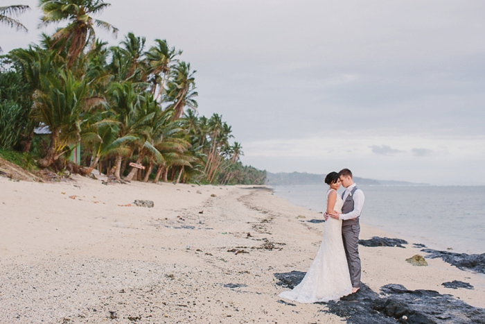 Beautiful coast coast wedding in Fiji