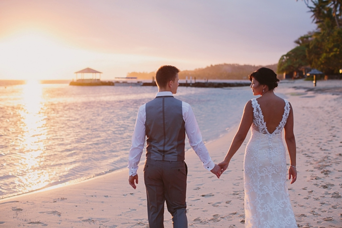 Honest wedding photography in Fiji