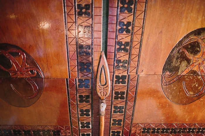 Traditional Fijian Carvings in Wicked Walu
