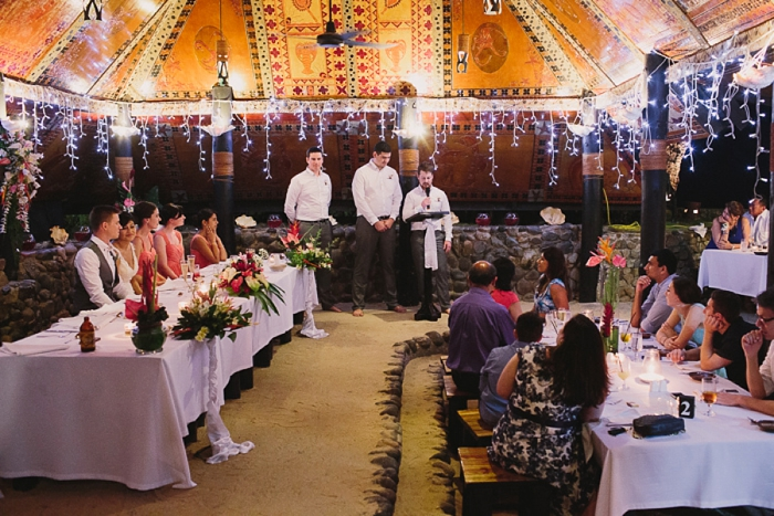 Wedding speeches in Fiji