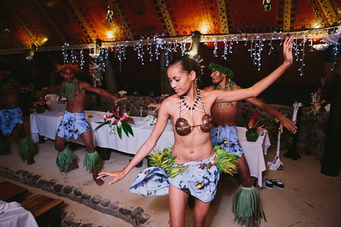 Traditional Fiji Performance at Wedding Reception