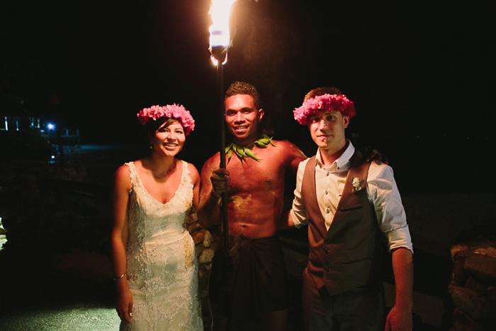 Traditional Polynesian Fire Dancers