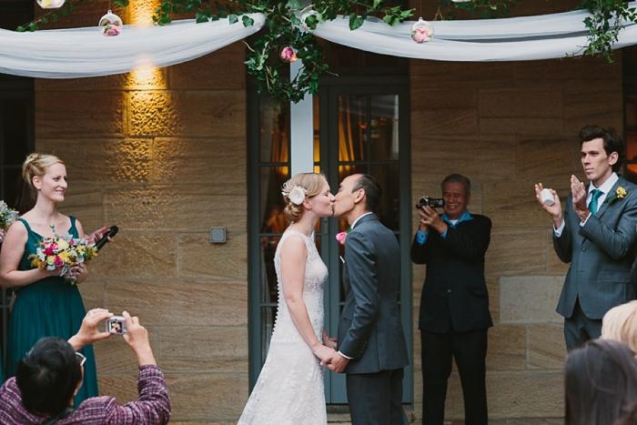 wedding-first-kiss-gunners-barracks