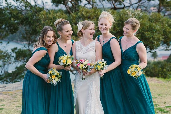 bride-with-bridesmaids-sydney-wedding