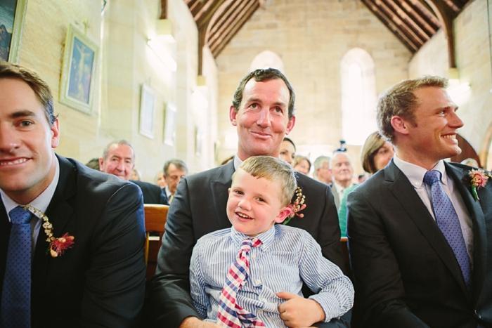 cute children during wedding ceremony