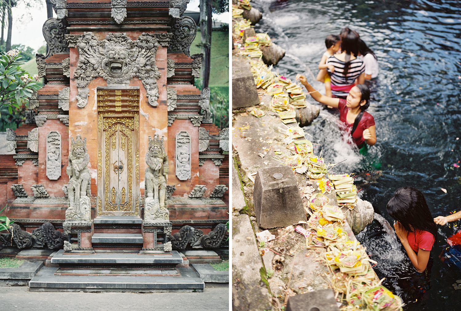 sacred cleansing rituals at tirta empul holy spring temple