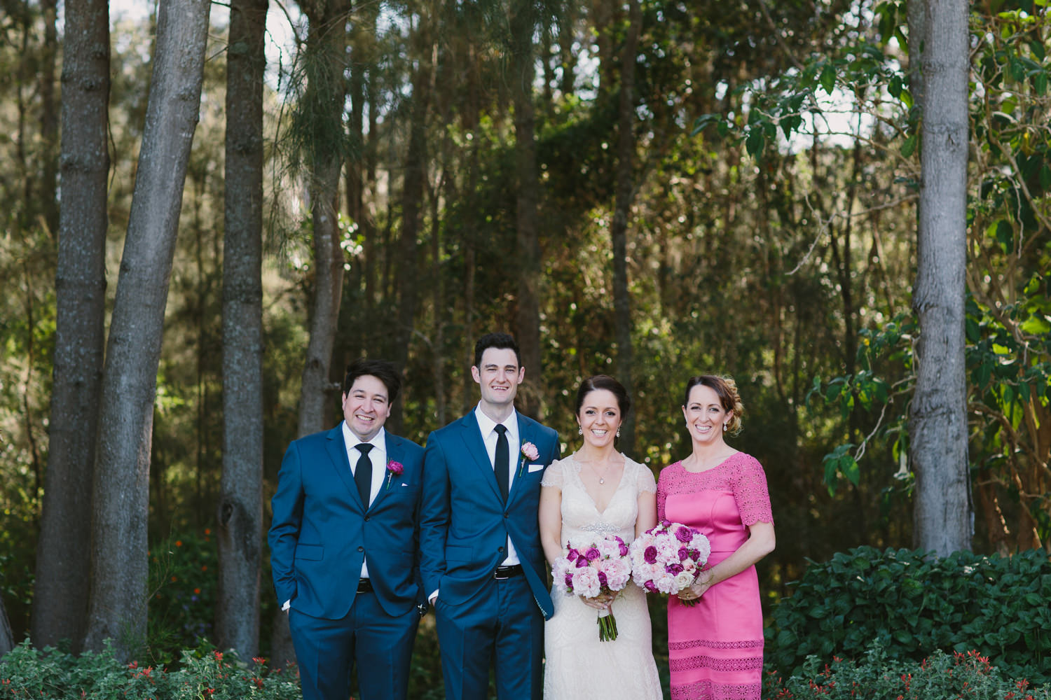 Hunter Valley Bridal Party Portraits