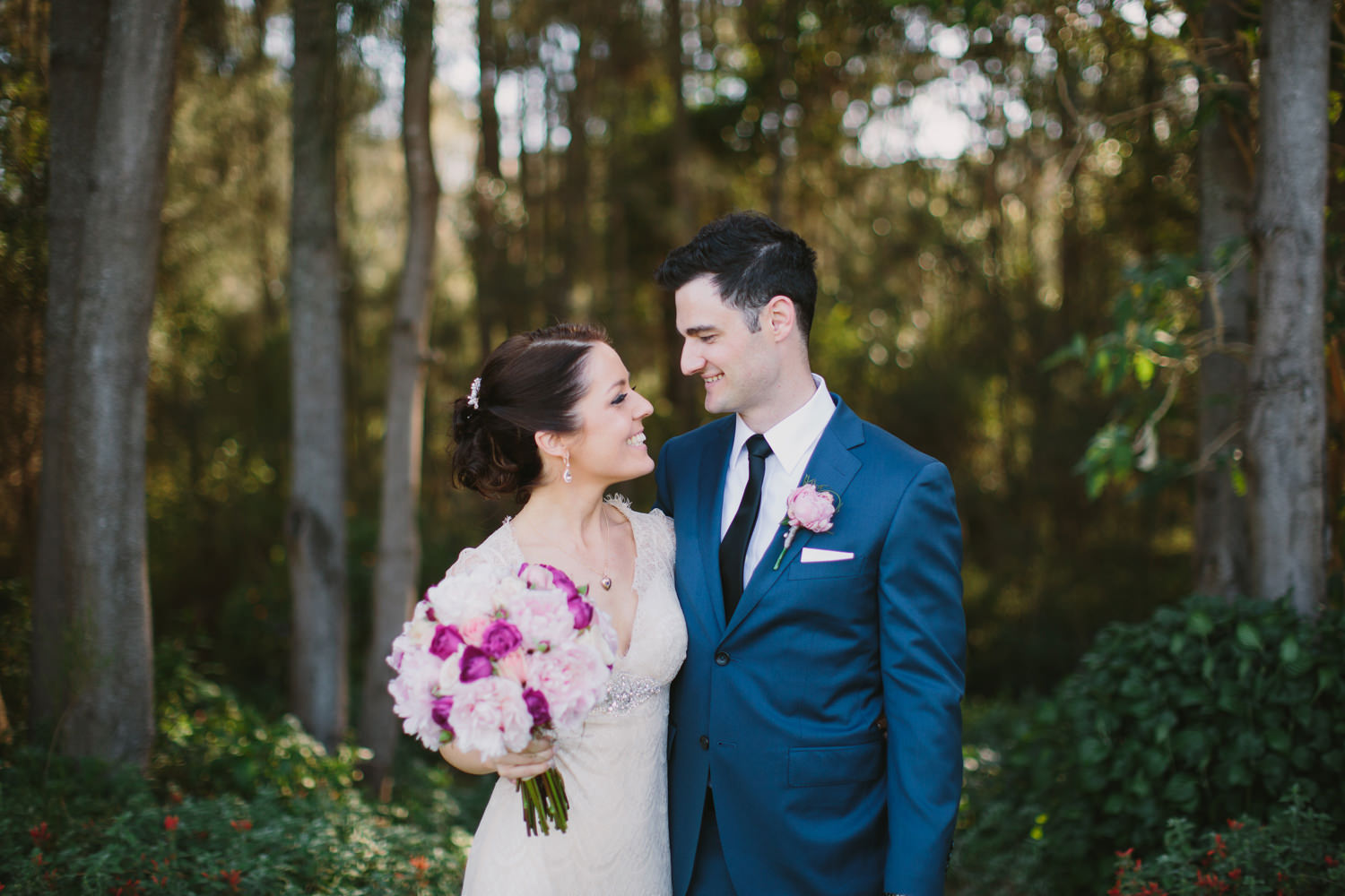 Romantic Hunter Valley wedding photography