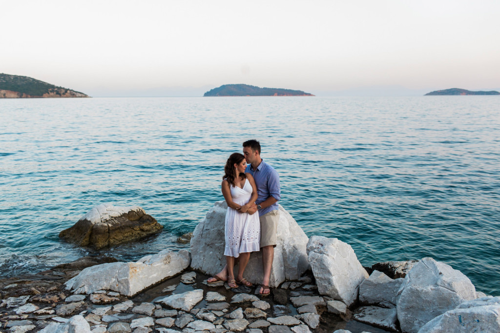 greek islands engagement photographer