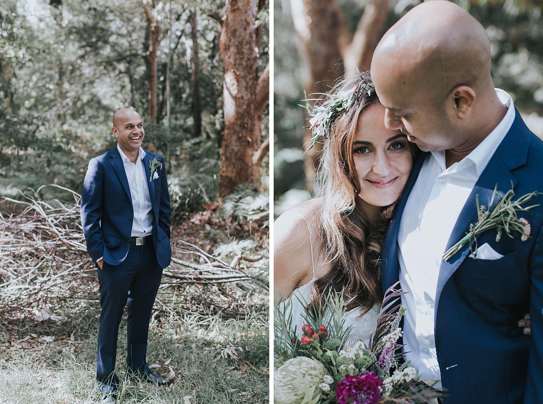 honest wedding portraits by jonathan david