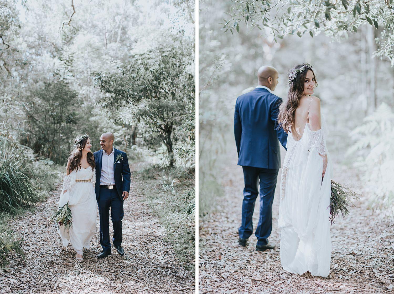 beautiful wedding portraits in sydney