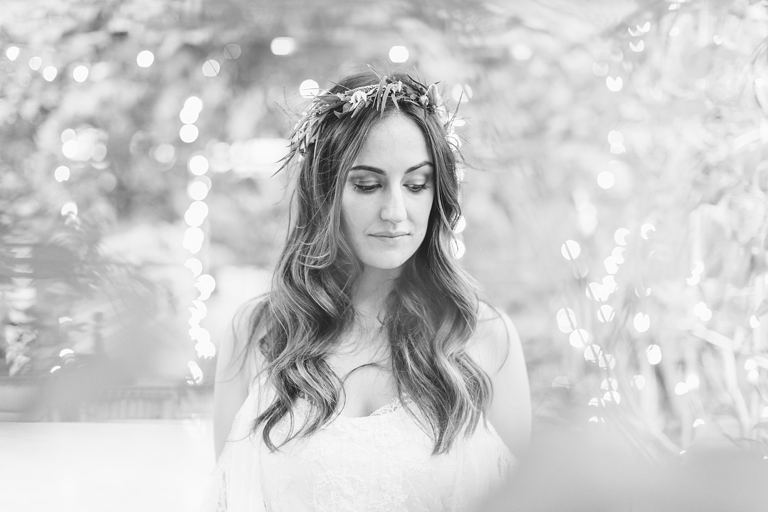 jonathan david photography bridal portrait in the greenhouse