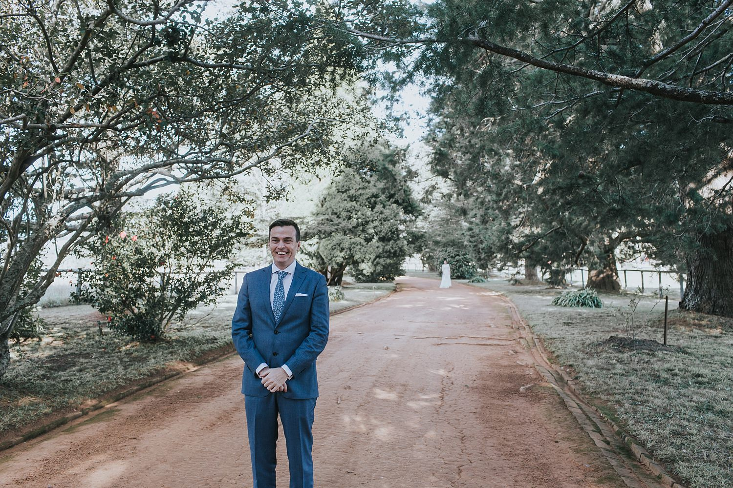 groom anxious for first look at berrima bendooley estate