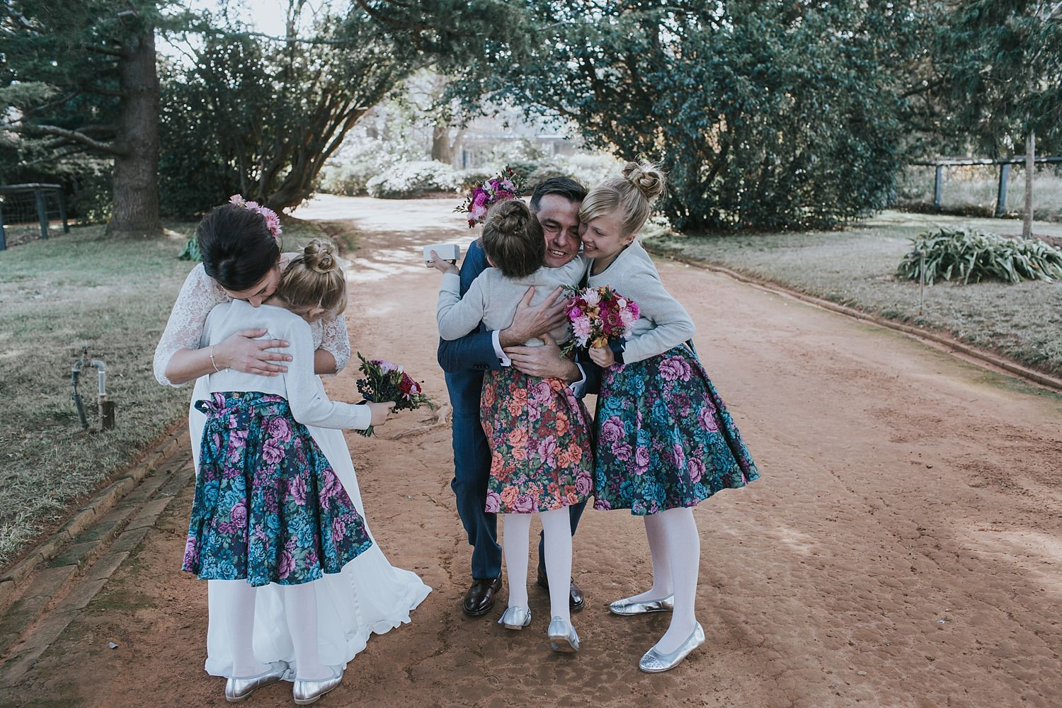 raw wedding documentary in the southern highlands