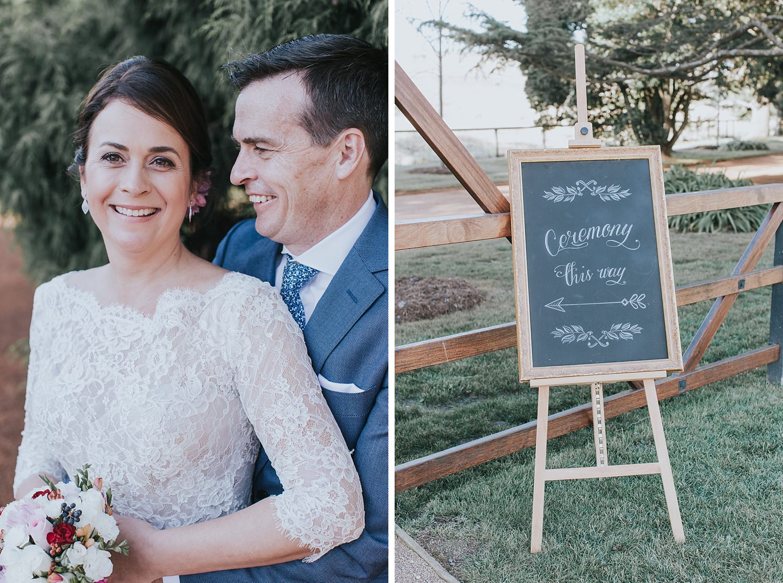 wedding photographer at bendooley estate