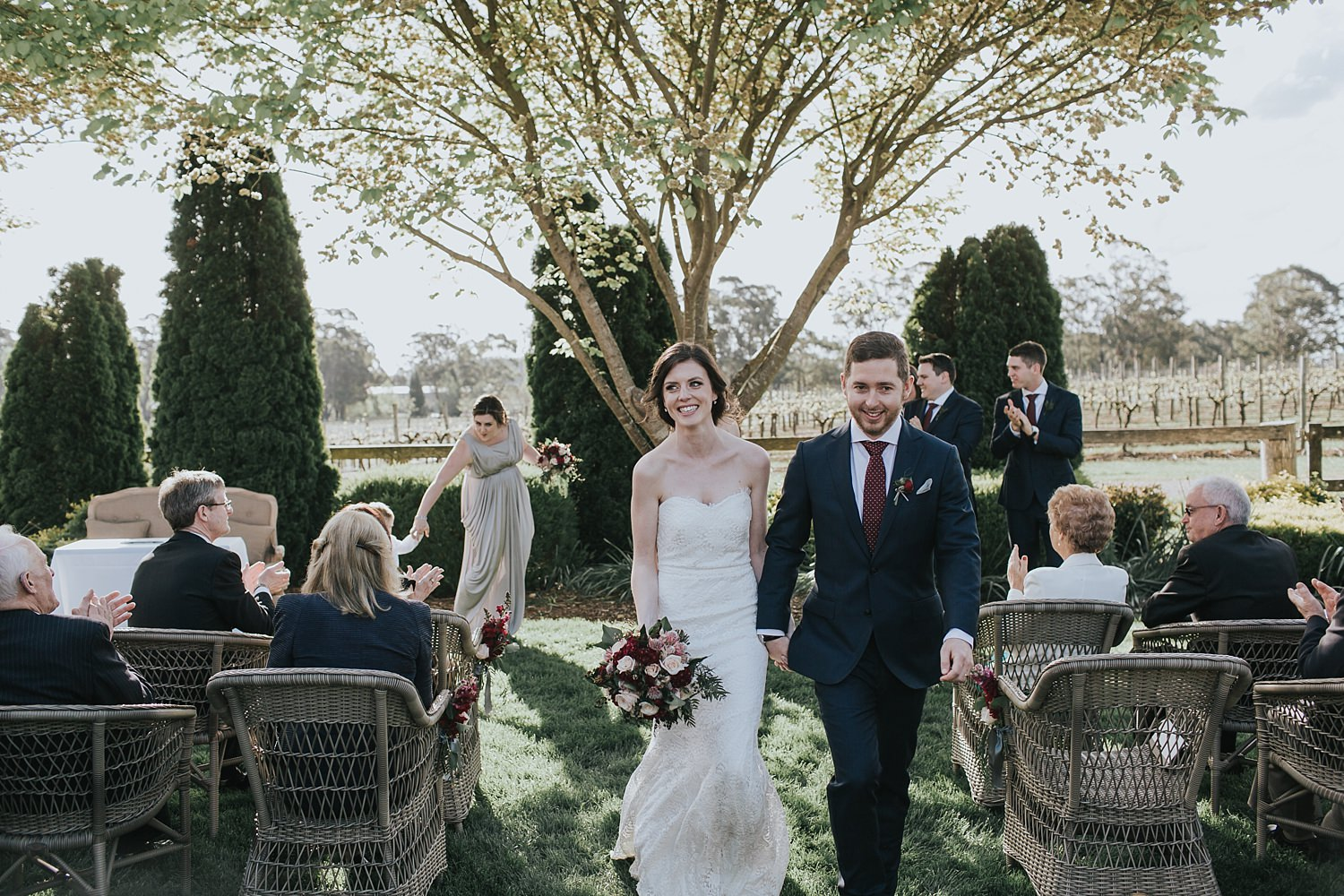 walking down the aisle in bowral