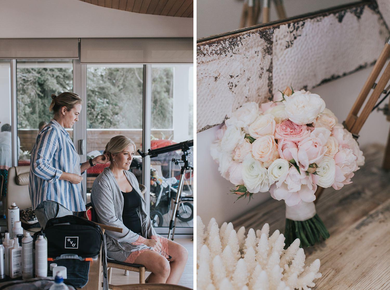 bridal preparations for palm beach wedding