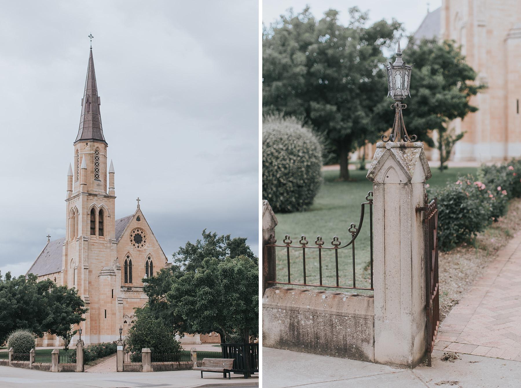 st mary catholic church mudgee wedding