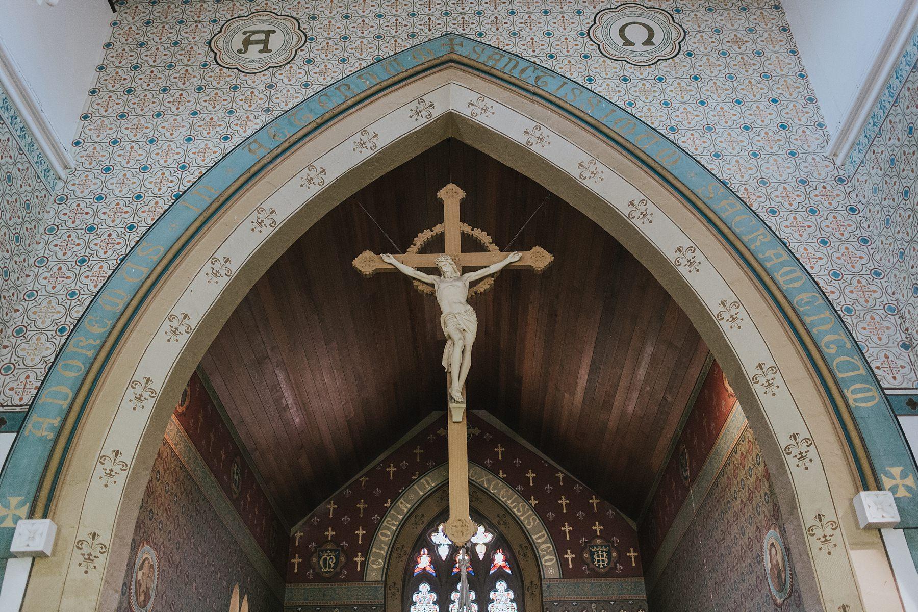 st marys catholic church mudgee wedding ceremony