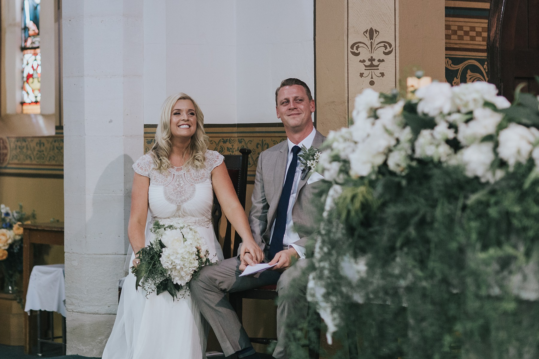 bride and groom in nsw country wedding
