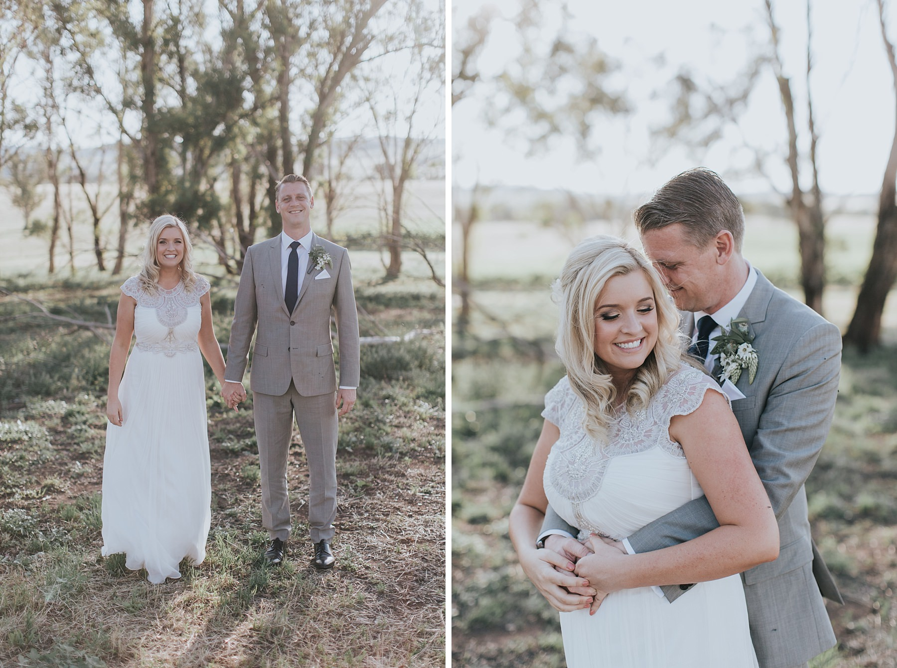 raw and honest wedding documentary in mudgee